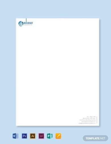 construction contractor letterhead template1