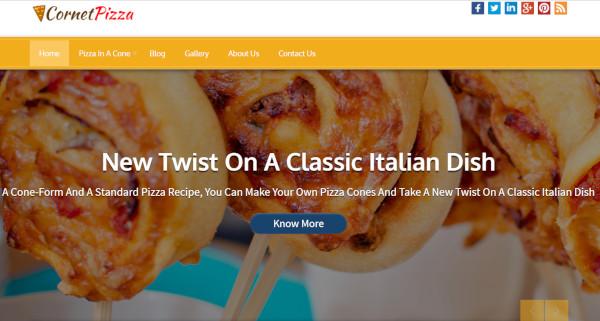 cornet pizza – seo friendly wordpress theme