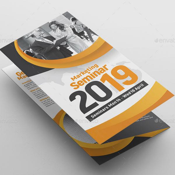Corporate Event Tri-Fold Brochure Format