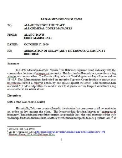 corporate legal memorandum template