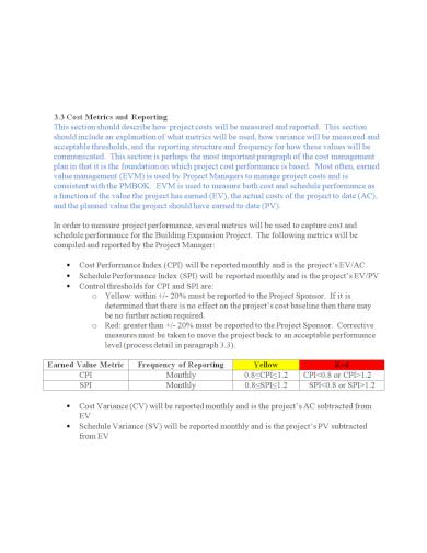 cost management construction estimate template