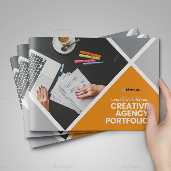 creative agency portfolio brochure format