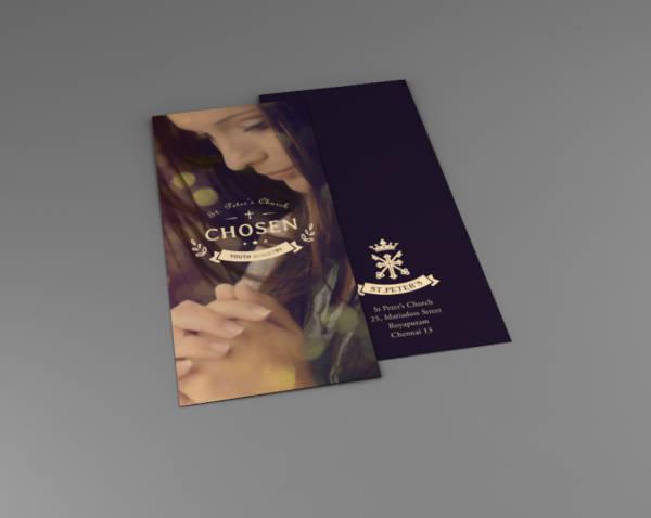 creative church brochure example