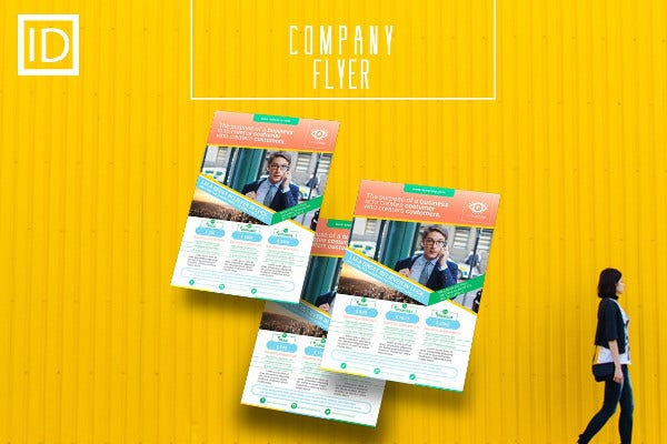 creative company flyer