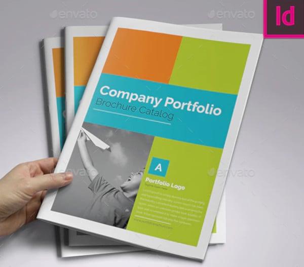 11  company portfolio templates in indesign