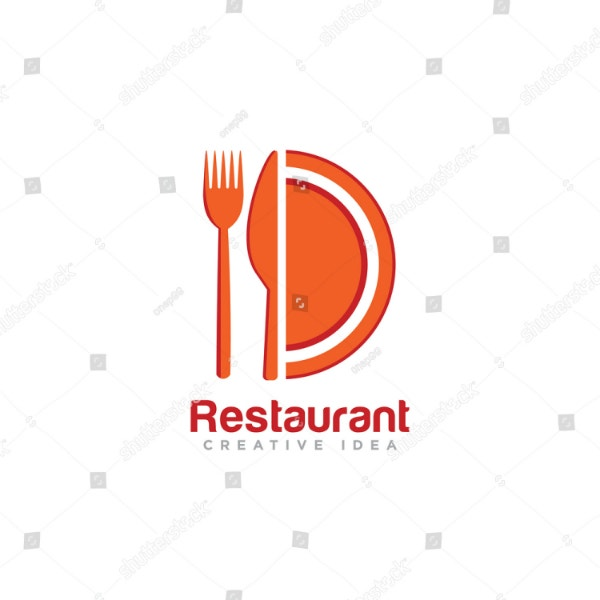 creative editable restaurant logo example
