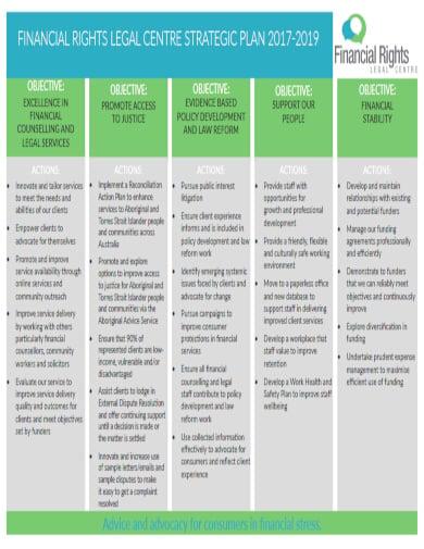 creative legal strategic plan template