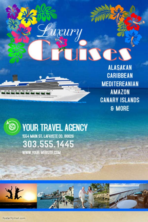 cruise banner template