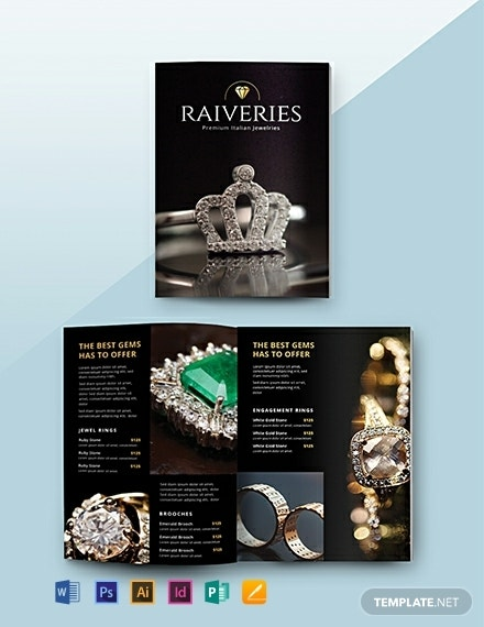 dazzling jewelry products catalog format
