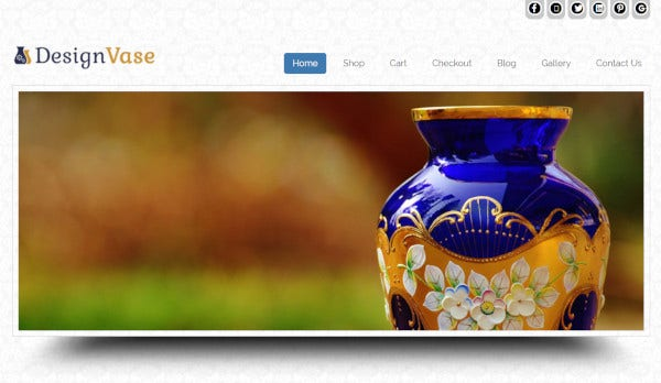 design vase – multiple browsers compatible wordpress theme