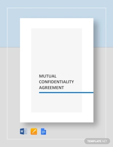 detailed legal confidentiality agreement template