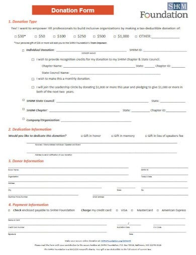 detailed non profit invoice form template