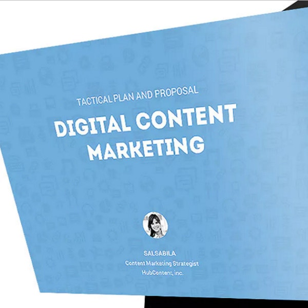 digital content marketing presentation design