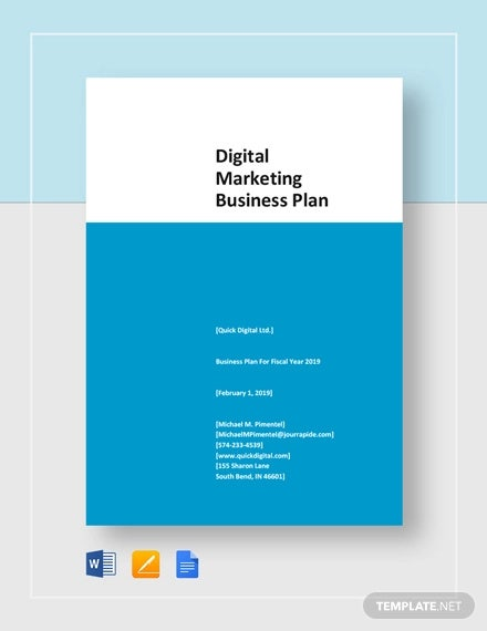 digital marketing business plan template1
