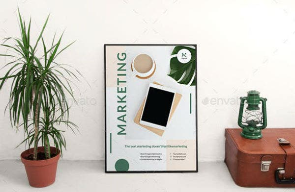 digital marketing company agency poster graphicriver