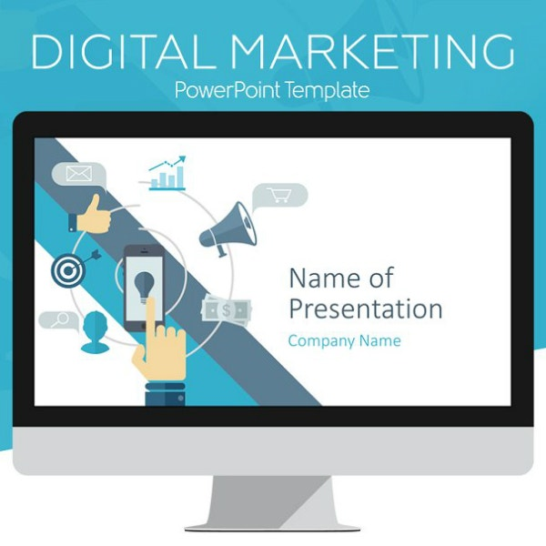 digital marketing powerpoint presentation example