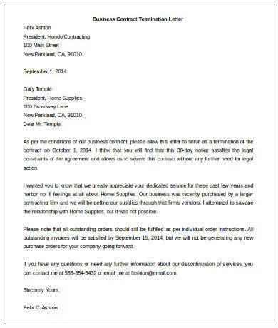 Download-Business-Contract-Termination-Letter-Template Void Contract Letter Template on