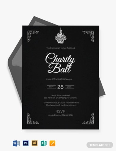 downloadable charity fundraising invitation template1