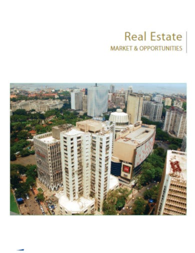 downloadable real estate market project report