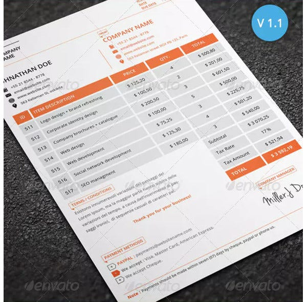 editable business invoice examples1