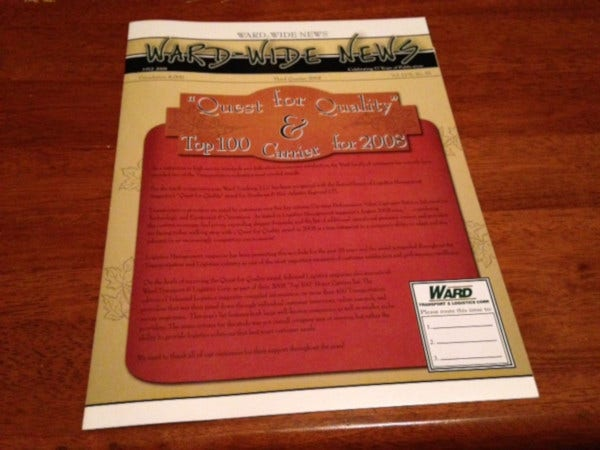 editable company newsletter template