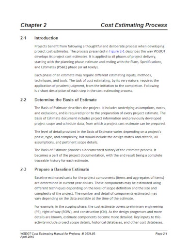 10+ Construction Cost Analysis Templates - Word, PDF | Free