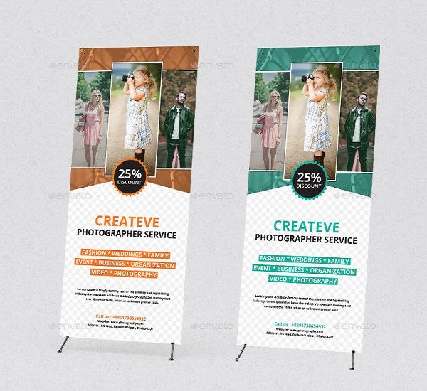 editable photography banner template1