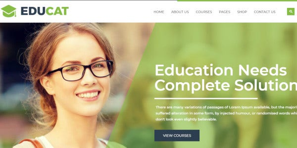 educat seo supported wordpress theme