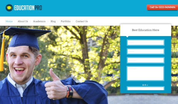 education pro fully responsive wordpress theme