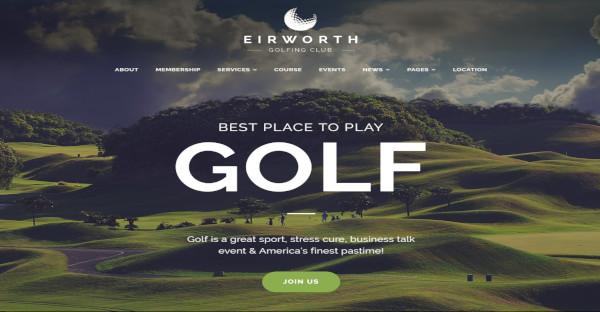 eirworth – customizable wordpress theme