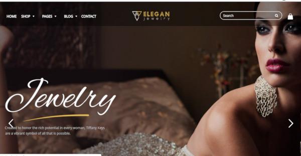 Elegance - WooCommerce Integrated WordPress Theme