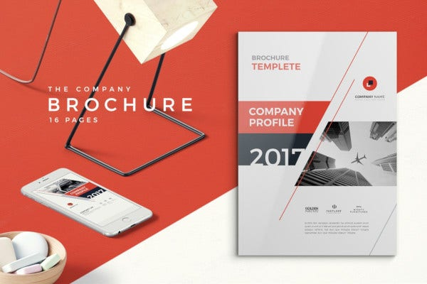elegant company profile design
