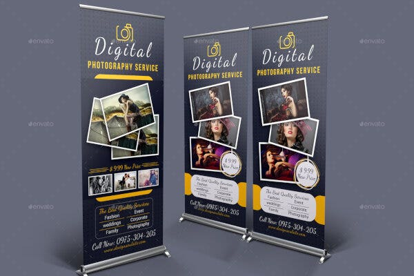 elegant photo banner sample