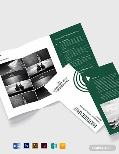 elegant photography brochure template1