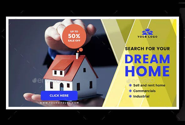 13+ Real Estate Facebook Ad Templates - PSD, DOC | Free