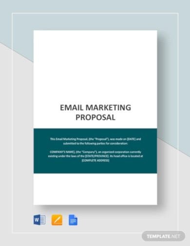 email-marketing-proposal-template