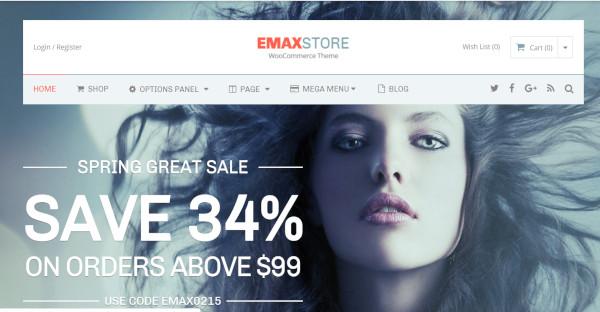 EmaxStore - bbPress Plugins WordPress Theme