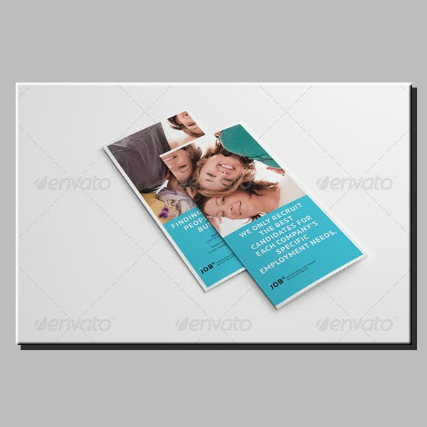 Employee Recruiting Agency Brochure Template