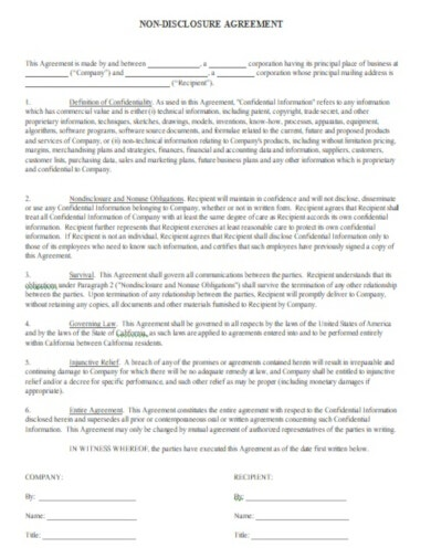 essential legal confidentiality agreement template