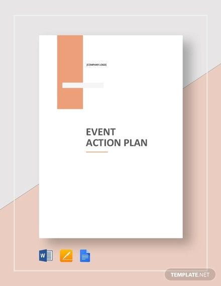 event action plan template