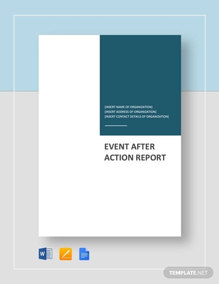 event after action report template2