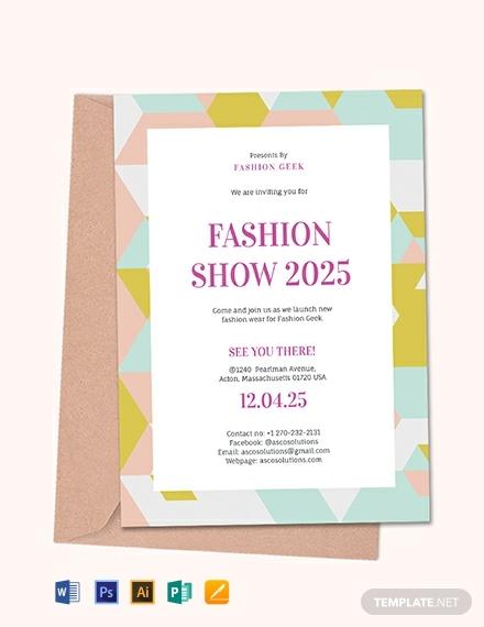 event invitation card template