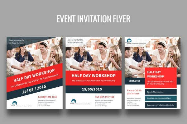 Event Invitation Flyer Example
