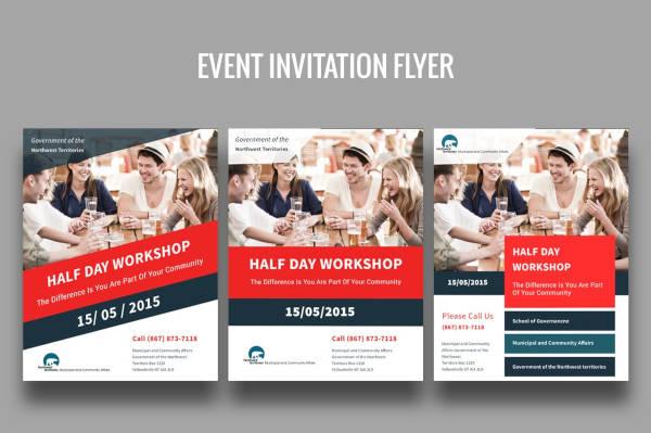 event invitation flyer example