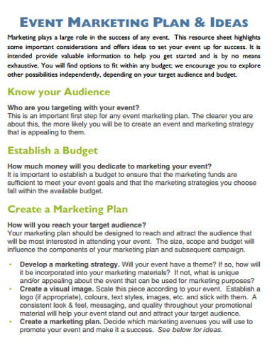 event-marketing-plan-example