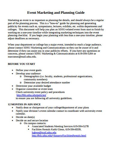 event-marketing-planning-template