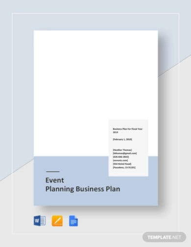 event planning business plan template1