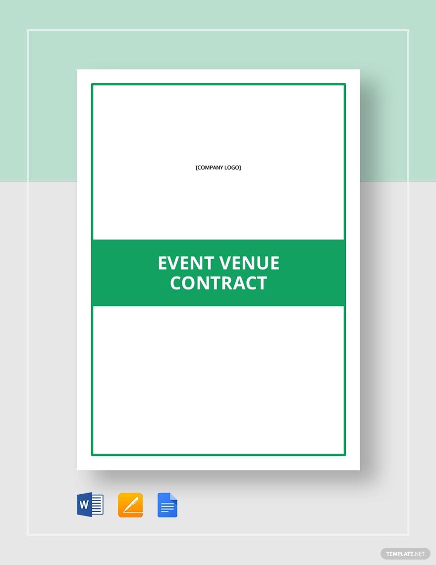 event venue contract