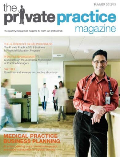 example private medical business plan