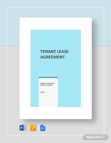 example tenant agreement template1